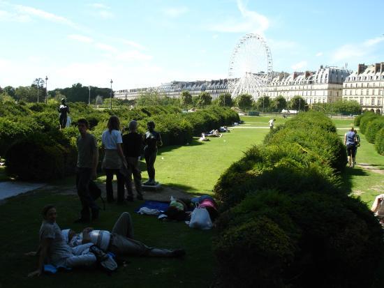 Jardines de luxemburgo en paris picture of luxembourg for Jardines de luxemburgo paris