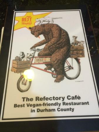 The Refectory Cafe : Best Vegan-Friendly Restaurant in Durham County