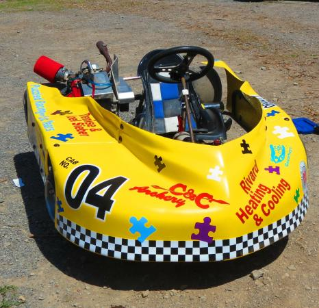 Le Roy, NY: go kart, racing to raise autism awareness