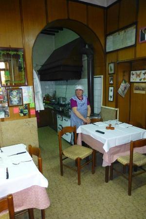 Trattoria Tacconi: la cuoca