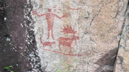 Ely, MN: Indian Pictographs
