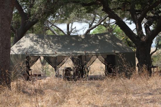 Chada Katavi, Nomad Tanzania: Dinner tent