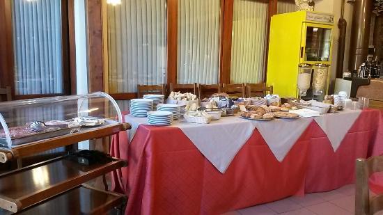 Hotel Scaldaferro: La colazione