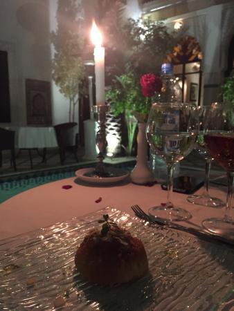 Restaurant Riad Monceau : Molto buono! Cucina tipica del Marocco. Un po' caro ma ci sta!