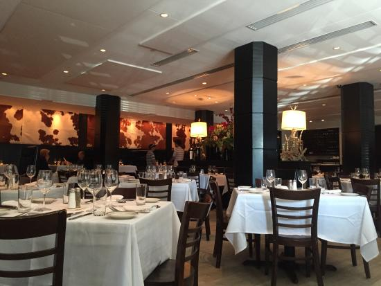 Surf and turf picture of manny 39 s steakhouse minneapolis for Best private dining rooms minneapolis