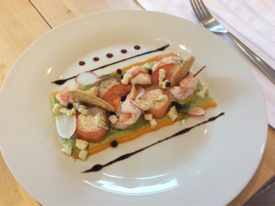"""Saint-Seurin-de-Prats, فرنسا: """"Avocat crevettes"""" revisité"""