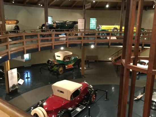 Heritage Museums & Gardens: Inside the antique auto building