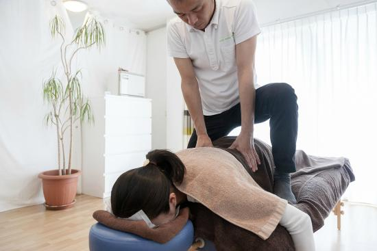 Amstelveen, Holland: Body massage