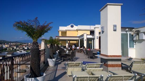 terrazza - Picture of Hotel Boracay Alba Adriatica, Alba Adriatica ...