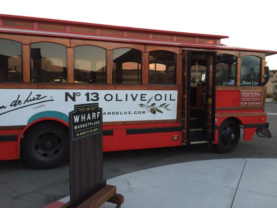 Ghost Tour of Old Monterey : Trolley