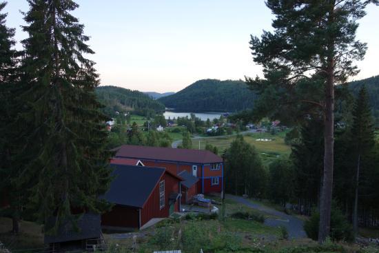 Nordingra, Suecia: Utsikt över sjön