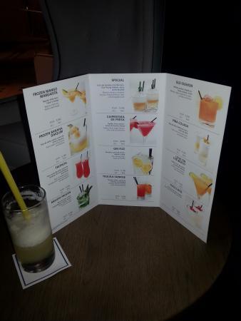 H10 Las Palmeras: Carte des Cocktails (attention d'autres sont possibles !!!)
