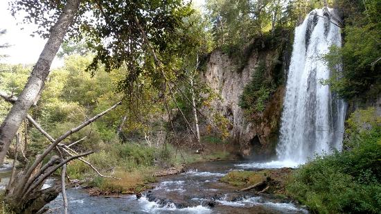 Savoy, SD: Spearfish Falls