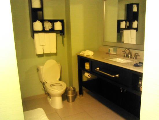 Hampton Inn Shreveport Airport: Beautiful Bathroom, soaker tub and separate shower