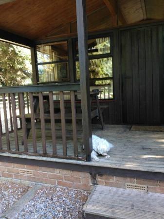 outside lodge