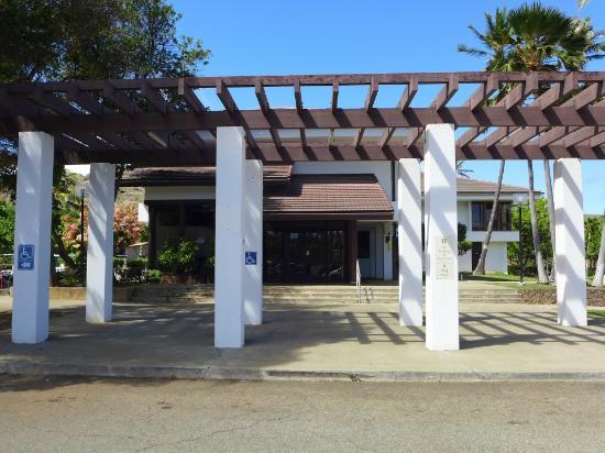 Hawaii Kai Golf Course : クラブ・ハウス入り口