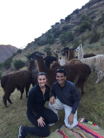 Llama Pack - Day Tours: Enjoying the picnic site