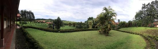 Termales del Bosque: Vista Jardines desde Hab. 60