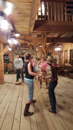 Del Rio, TN: Line Dancing,