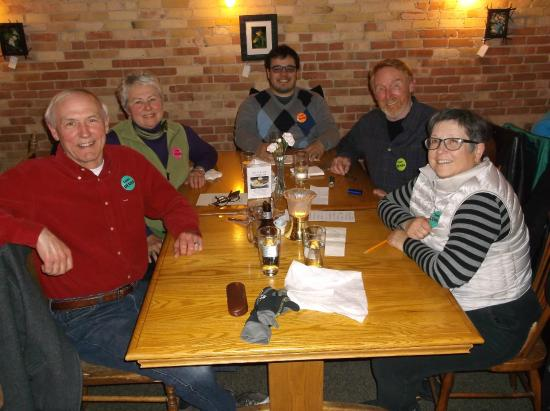 Inn at Cedar Crossing: Quiz Night Contestants