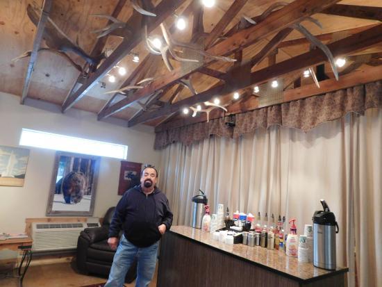 Moose Creek Inn: Coffee Bar