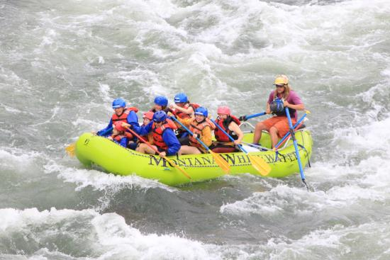 Montana Whitewater Raft Company: It is always more fun with friends