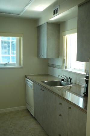 Carmana Plaza: Kitchen sink