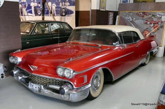 York Motor Museum: Cadillac Eldorado Biarritz Convertable (1958)