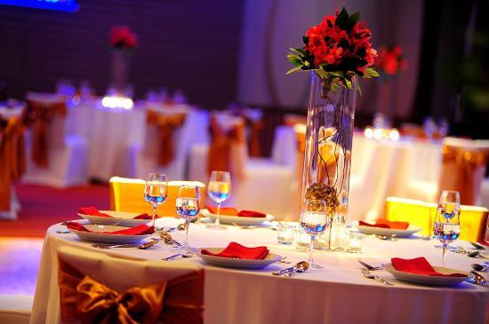 Renaissance Phuket Resort Spa Wedding Reception In Ballroom