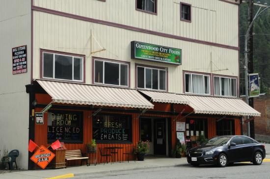 Greenwood, Canadá: super recommandable restaurant