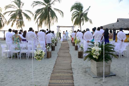 Matrimonio Catolico En La Playa Colombia : Foto de zuana beach resort santa marta matrimonio en la