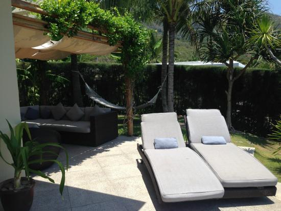 Mia Resort Nha Trang: Outside area of our room.