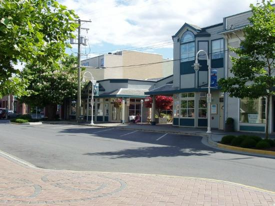 Nanaimo, Canadá: Quiet Sunday afternoon at the Old City Quarter