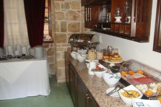 Mediterra Art Restaurant : завтрак