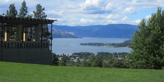 Mission Hill Winery with Views of Lake Okanagan, West Kelowna, BC
