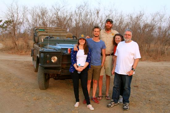 Tydon Bush Camp: On a game drive with our guide Jared.