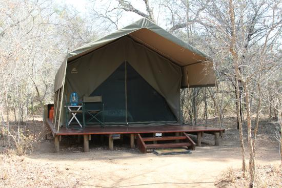 Tydon Bush Camp : Our tent with ensuite. Glamping at it's best.