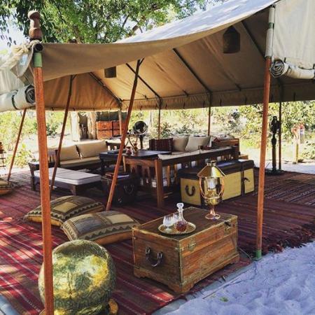 Selinda Explorers Camp - Main Area