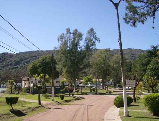 Hostal La merced: Paisaje camino