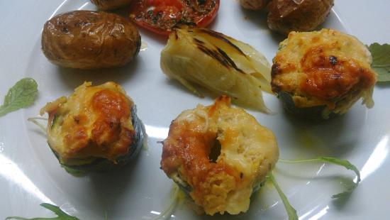 Le Manoir N'co: petits legumes aux poissons