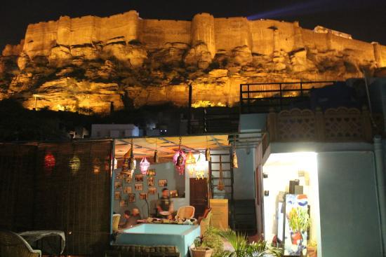Kesar Heritage Restaurant : night view