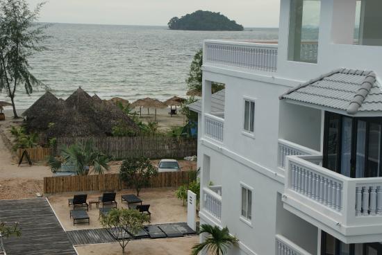 Mary Beach Hotel Resort View From Balcony