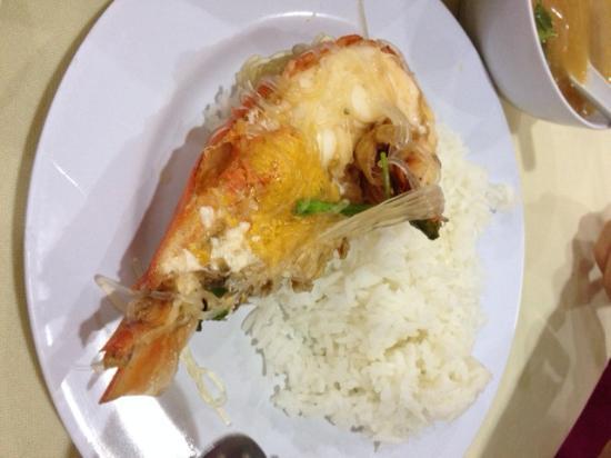 Wilayah Persekutuan, Malasia: Glass noddle with prawn
