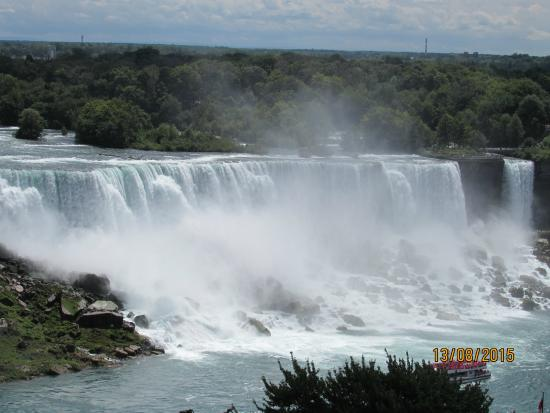 Niagara Falls Canadian Side Picture Of Gray Line