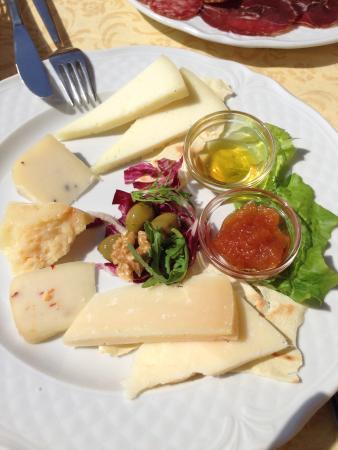 Ristorante Metastasio: Misto di formaggi