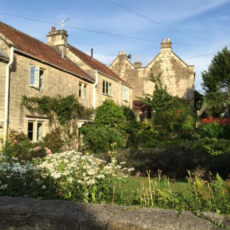 Bathford, UK: Garden view