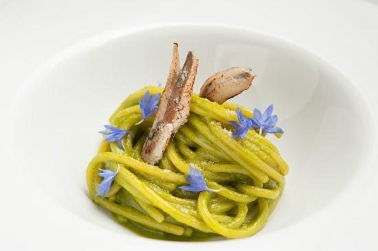 Enoteca Italiana: Spaghetti fennel and anchovies