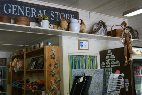 Owls Head General Store: Inside the General Store