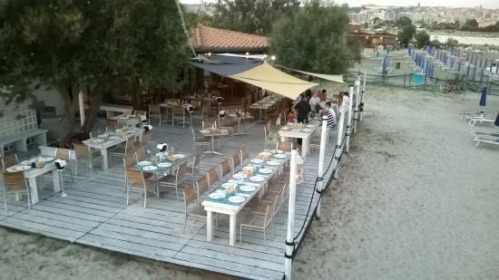 terrazza fronte Mare - Picture of Restaurant Zenit, Cagliari ...