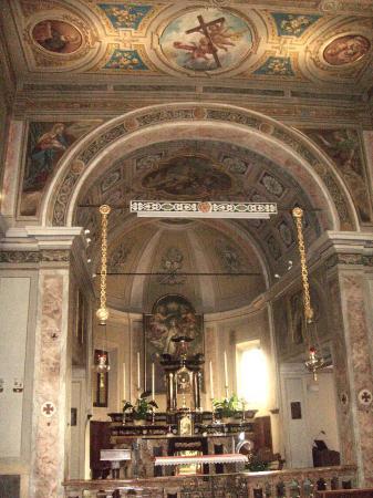 Chiesa San Bovio: l'altare maggiore
